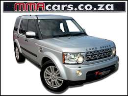 2010 LAND ROVER DISCOVERY 4 5.0 V8 HSE R369,890.00