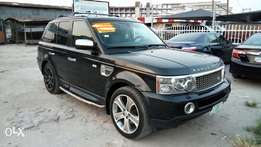 Clean Nig Used Range Rover Sport HSE 2009 Model In Superb Condition.