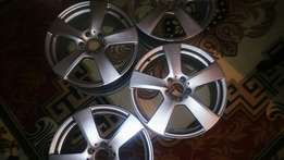 "18"" Mercedes rims -Genuine, from e class"