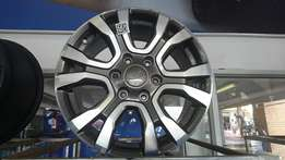 """Ford Wildtrack 18"""" mags"""