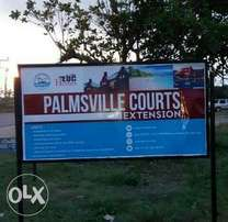 Hot Promo : Introducing the New Palmsville Courts, Orimedu Town Ibeju