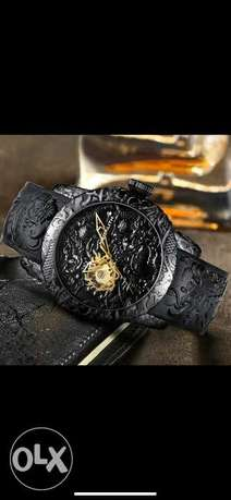 Original MEGALITH Black dragon watch فيصل -  1