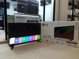 Original LG 43 inches Satellite/Digital enabled flat screen TV
