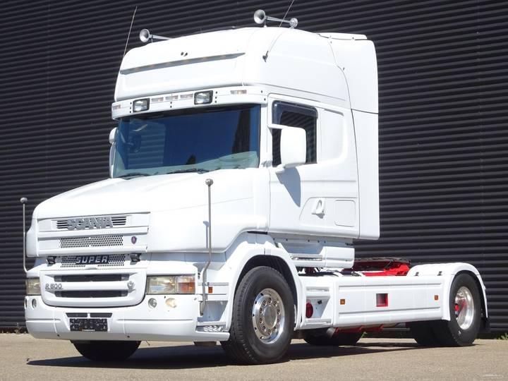 Scania T500 V8 TORPEDO RETARDER HYDRAULIC - 2005