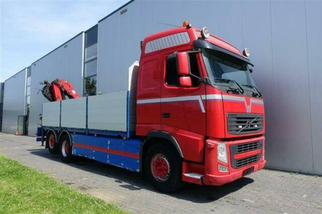Volvo FH540 6X2 WITH HMF 2420 EURO 5 - 2011