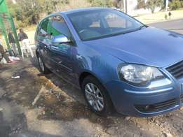 2007 Blue VW Polo 1.6 Hatch for sale