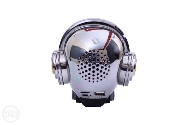 Skull Head Bluetooth Wireless Stereo Speaker مدينة نصر -  2