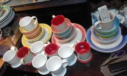 state of the art fine dinning cups bowls saucers sets from Germany