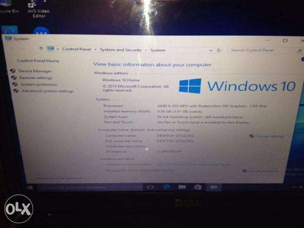 dell inspiron m5040 sale or swap Agege - image 2