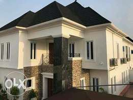 5 bedroom newly built in a serene environment with a boys quarter