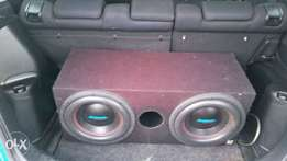 "Audio bank 12""dvc subs and box for sale"
