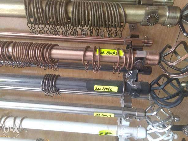 2M Brand New Curtain Rods Industrial Area - image 2
