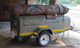 Namib, Town & Country Trailer with Tent