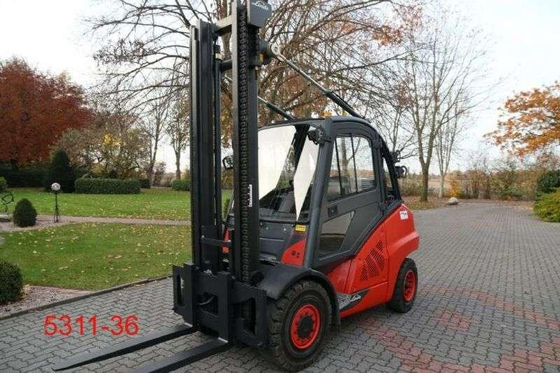 Linde H 50 T 02 600 - 2013