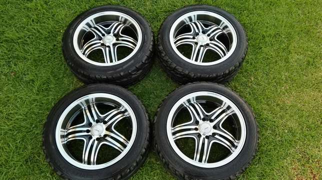 Rims and tyres for sale Kimdustria - image 1