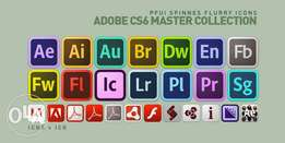 Adobe CS6 Master Collection With License.