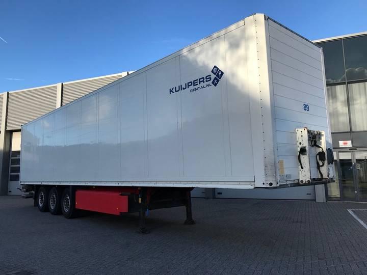 Schmitz Cargobull 3-Assige Boxtrailer / Laadlift / Liftas - 2011