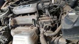 Toyota 3s engine + computer with all documents in very good condition.