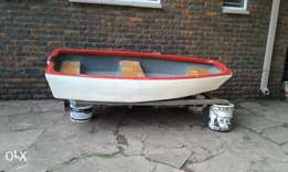 Bass boat to swap for 5hp petrol motor