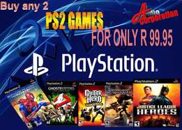 Audio Corp: Playstation 2 Games - Buy 2 for R 99.95