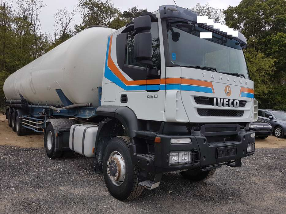 Iveco TRAKKER AT 400 T45 4x4 € 5 truck lorry - 2008 - image 4