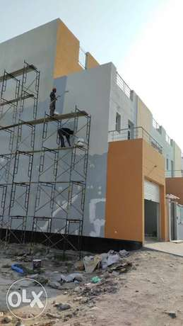 House villas and painting work