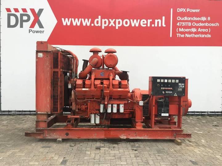 Cummins KTA38G1 - 780 kVA Generator - DPX-11547 - 1988