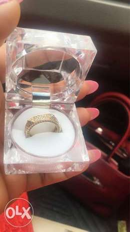Pure Gold Engagement ring Lagos Mainland - image 1