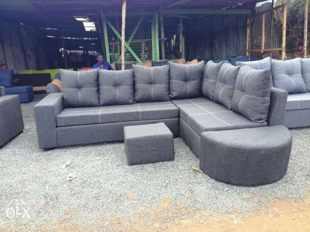 New favourite L sofas, readymade classics*free delivery*** Kasarani - image 1
