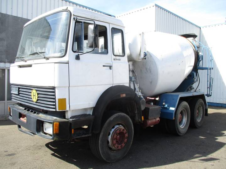 Iveco Magirus 256 M 26 , ZF Manual , V8 , 6x4 , Spring Suspension - 1981