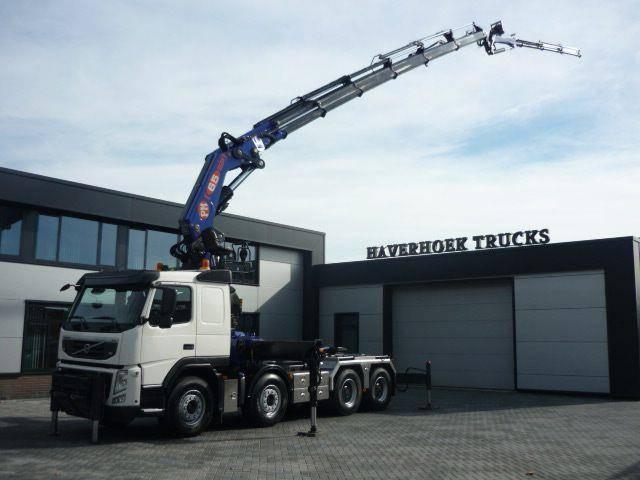 Volvo FM 13 420 8x4 euro 5 Crane PM 65026 Jib and Winch - 2010