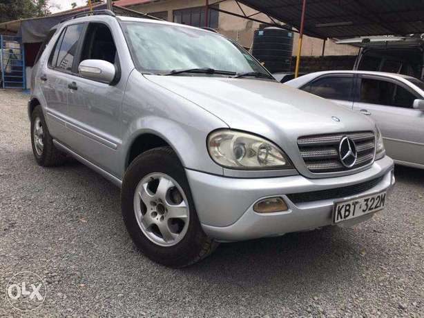 Mercedes ML350 Locally Used 2005 For Quick Sale Asking Price 1,800,000 Lavington - image 1