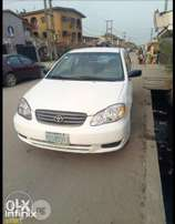 Toyota Corolla 2003 Model First Body Perfectly Condition Naija Used