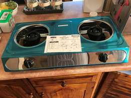 2 Plate gas Cooker. Brand new, never been used