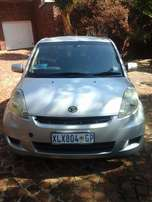 2008 Daihatsu Sirion 1.3i for sale in good condition.