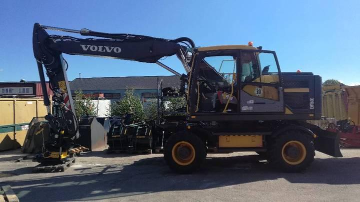 Volvo Ew 160 E, Uthyres - 2015