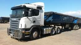 We need 34 ton side tippers for L.O.I to hire