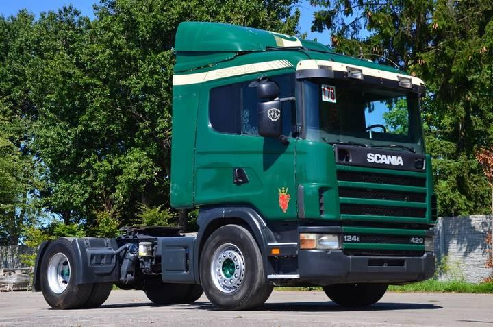 Scania 124 420 AC / RET