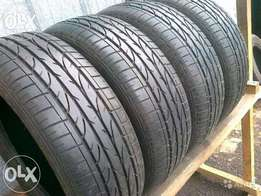2 x 215/45/20 and 2 X 245/40/20 fairly used tyres.