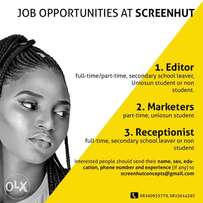 screenhut studios is recruiting