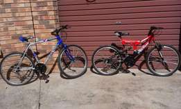 2X Bicycels For Sale