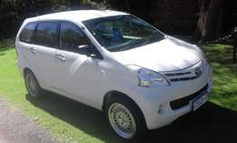 Toyota avanza 7 seater very clean 2014 model