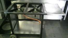 2 plate gas burner for sale !!!