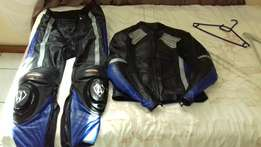 Maxxis Full Motorcycle Leathers plus Boots.