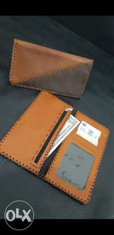 Natural leather wallets(handmade)