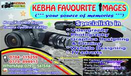 Proffessional photographers & Videographers.
