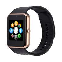 GT08 Bluetooth Smartwatch With Sim Slot - Brown