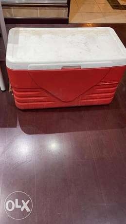 very big cooler for the beach