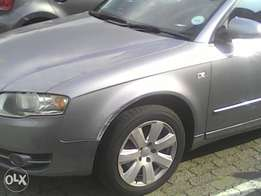 2006 audi a4 2litre silver with leather interior