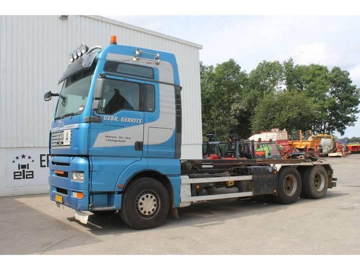 MAN TGA 28.480 6x2-2 BL Vrachtwagen Met Kabelsysteem - 2007